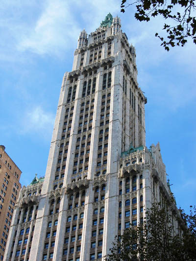 The Woolworth Building, Kellex headquarters