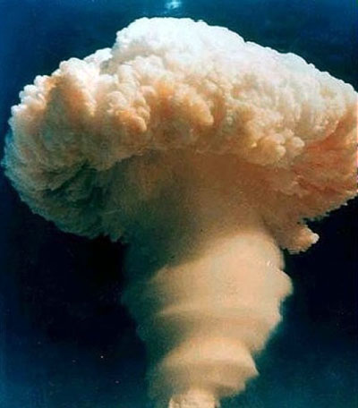China's first hydrogen bomb test