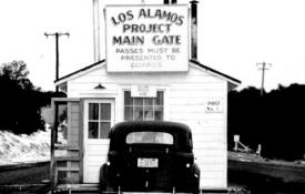 The Los Alamos main gate