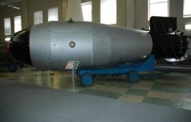 Tsar Bomba (Image courtesy of Wikimedia Commons)