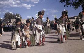 Dances at the San Ildefonso Pueblo