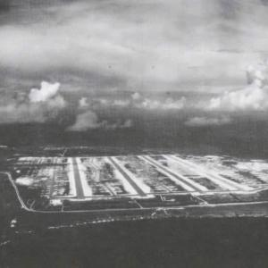 Aerial view of Tinian