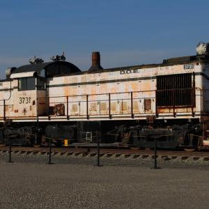 Locomotive at Hanford