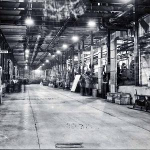 The interior of the K-25 Plant