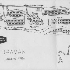 Map of Uravan