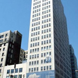 270 Broadway, the first headquarters of the MED