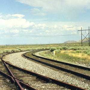 Railroad tracks at Hanford