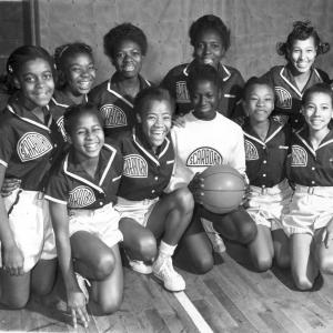 Scarboro School girls' basketball team