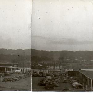 Oak Ridge townsite, September 1945, late afternoon (4 images as panorama). Photo Courtesy of William S. Ginell.