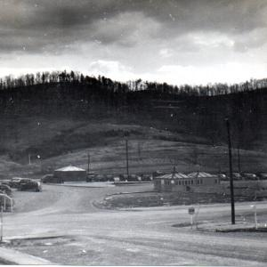 Black Oak Ridge, seen from Lafayette Hall, February 1946. Photo Courtesy of William S. Ginell (WSG).