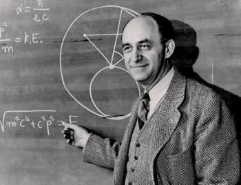 Enrico Fermi. Photo courtesy of the University of Chicago.