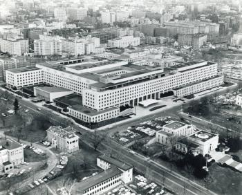 The New War Building, where General Leslie Groves had his office