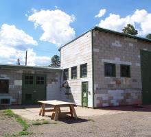 The restored V-Site at Los Alamos